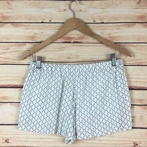 Urban Outfitters Shorts - Urban Outfitters Elastic Waist Shorts White Black